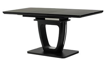 Стол раскладной ТМL-560 120/160 матовый черный TM Vetro Mebel, фото 3