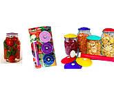 Вакуумные крышки,Набор системы вакуума для консервирования продуктов, фото 2