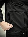 """Мужская весенняя куртка, ветровка черная Intruder """"Sprinter"""", фото 3"""