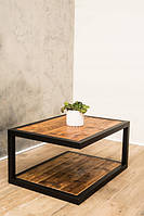 Журнальный столик в стиле Лофт / кофейный стол Лофт WMS007 800х600х400 мм