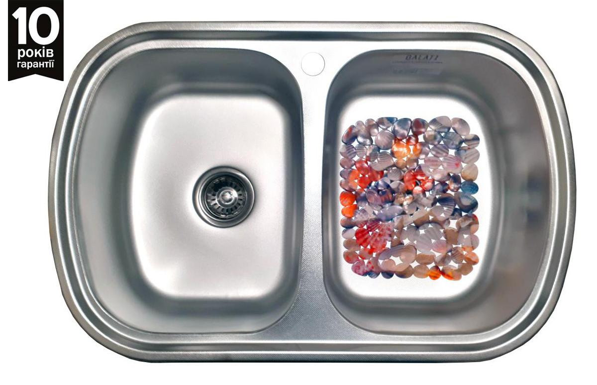 Кухонная мойка Galati Vayorika 2C Textura
