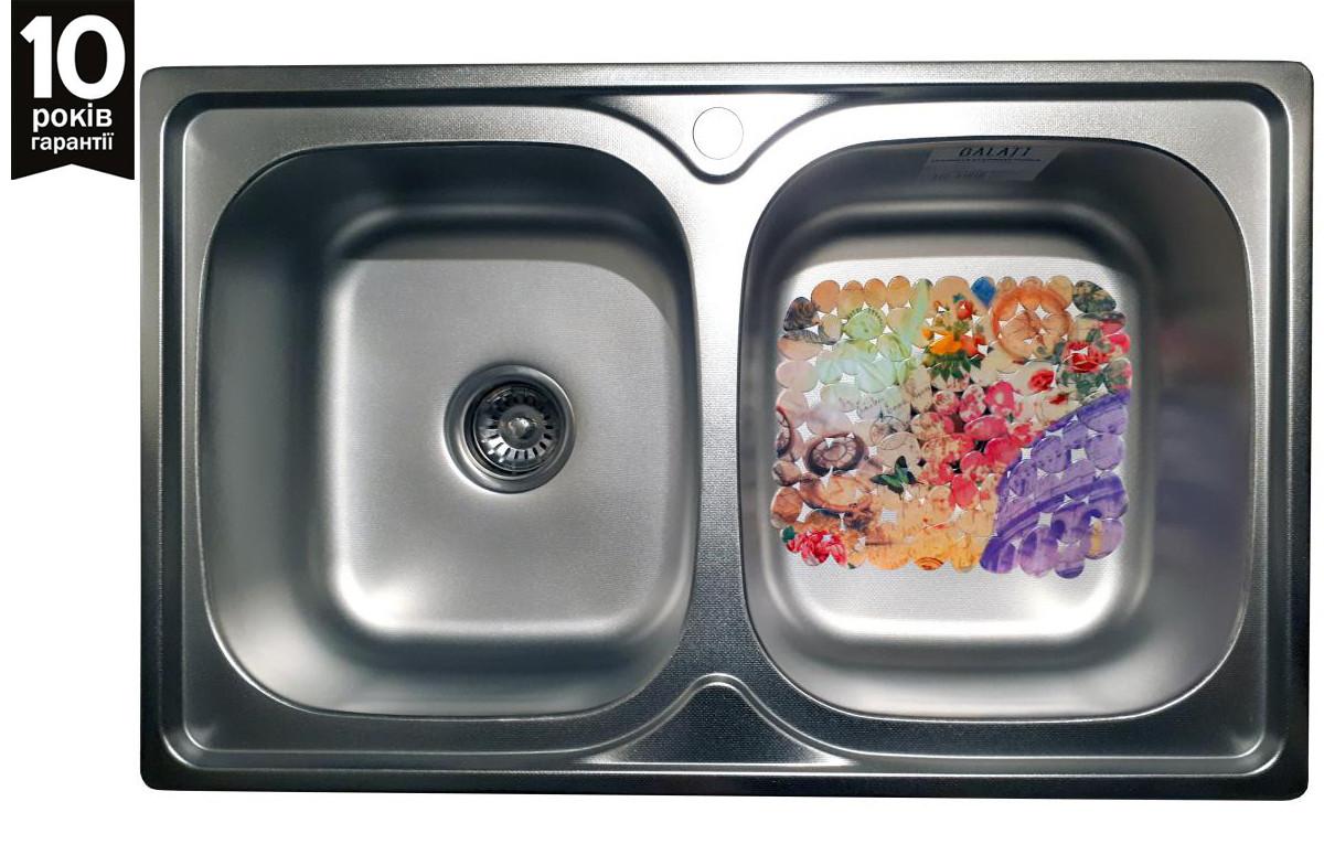 Кухонная мойка Galati Fifika 2C Textura