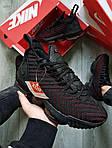 Чоловічі кросівки Nike Air Jordan LeBron 16 (чорно-червоні) 482TP спортивне взуття для баскетболу, фото 4