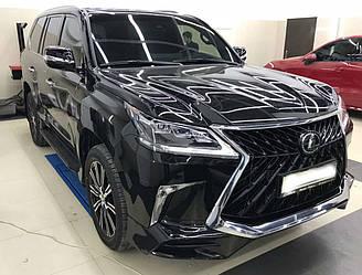Обвес Lexus LX570 (15+) тюнинг стиль TRD Superior
