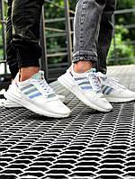 Adidas zx500 білі женские и мужские кросовки