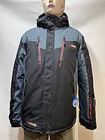 Зимова чоловіча куртка гірськолижна р. 54 остання Чорна