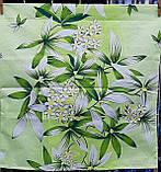 Наволочки из полиэстера 60 х 60 Зеленая лилия, фото 3