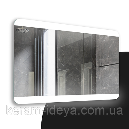 Зеркало StudioGlass Dove Led 80х60, фото 2