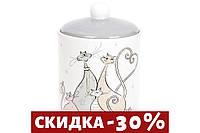 Банка керамическая для сыпучих продуктов Веселая семейка, 1.1л DM544-Q