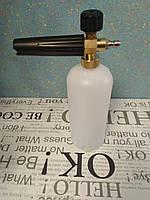 """Пеногенератор #5,пенная насадка,пенообразователь.Пенная насадка1/4 """"(13,16 мм-14 мм),пінник Пенопистолет.#"""