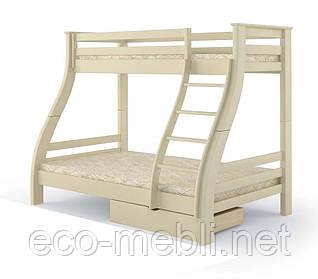 "Двоповерхове ліжко MebiGrand ""Аляска"" Сосна,1,2х0,8 /2,0/1,9"