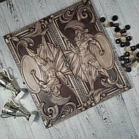 Нарды деревянные ручной работы, оригинальный подарок, фото 1