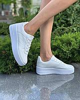 Женские кроссовки Air Force белые