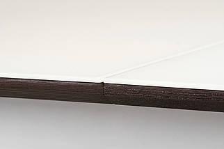 Стол раскладной TML-521 140-180 см матовый Белый/ВенгеTM Vetro Mebel, фото 3