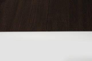 Стол раскладной TML-521 140-180 см матовый Белый/ВенгеTM Vetro Mebel, фото 2