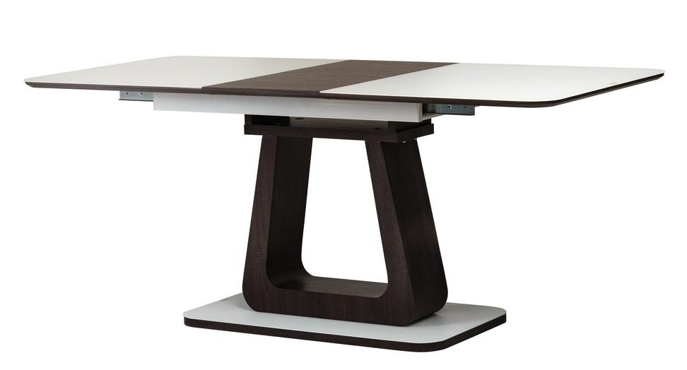 Стол раскладной TML-521 140-180 см матовый Белый/ВенгеTM Vetro Mebel