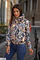 Женская весенняя куртка на синтепоне, размеры 48-50, 52-54