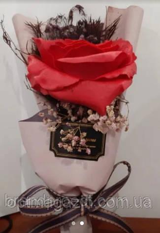 Роза в подарочной упаковке, фото 2