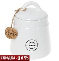Сахарница керамическая Винтаж 600 мл