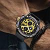 Годинники чоловічі наручні Patek Philippe Grand Complications 6002 Sky Moon патек філіп Репліка ААА класу, фото 4