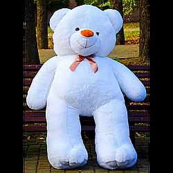 Плюшевые медведи: Плюшевый медвежонок Ветли 3 метра (300 см), Белый