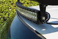 LED фара-дуга на крушу 107см \ 240W \18000 lm Светодиодная фара двухрядная, лэд балка. Боковой крепеж.