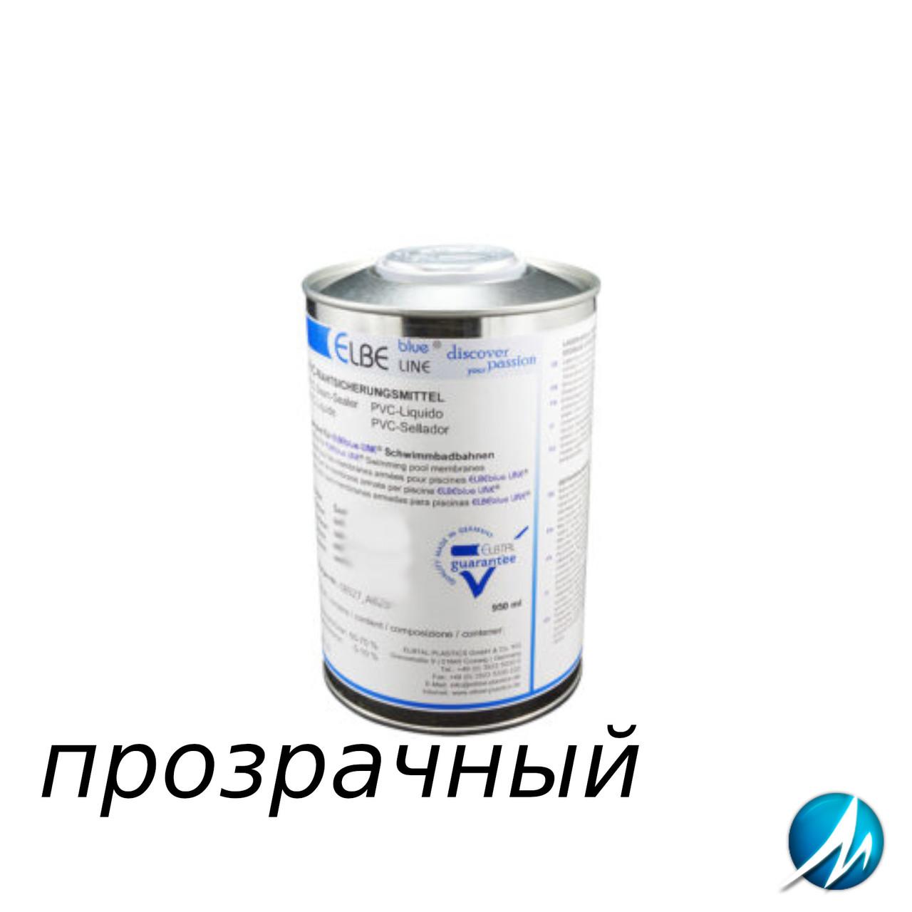 Жидкий ПВХ-герметик для швов Elbtal Plastics SUPRA transparent прозрачный, цвет 027