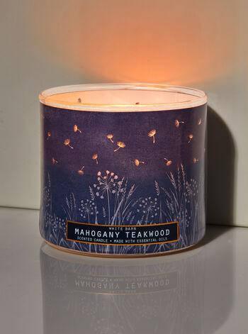Свеча ароматизированная Bath and Body Works Mahogany Teakwood Scented Candle 411 г, фото 2