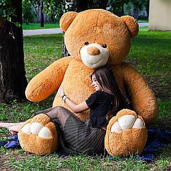 Плюшевые медведи: Плюшевый медвежонок Ветли 3 метра (300 см), Карамельный
