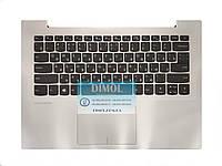Оригинальная клавиатура для ноутбука Lenovo IdeaPad 320S-14, 320S-14IKB, 320S-14ISK series, rus, gray