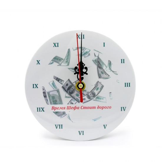 Часы настольные Время шефа стоит дорого