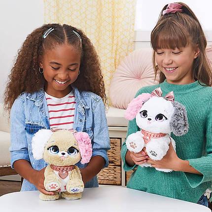 Интерактивная игрушка щенок сюрприз милашки Present Pets Fancy Puppy Interactive Plush 6051191, фото 2