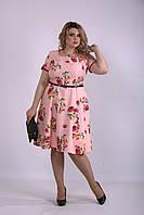 01139-1 | Красивое и нежное платье с цветами