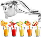 Соковыжималка ручная для фруктов с зажимом Hand Juicer | Механическая соковыжималка | Сокодавка, фото 5