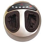 Массажер для ног и ступней роликовый, компрессионный с прогревом Zenet ZET-762, фото 3