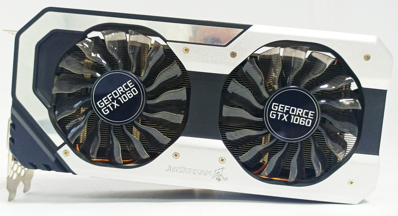 Видеокарта Palit Jetstream GTX 1060 (6GB/GDDR5/192bit) NE51060015J9-1060J БУ