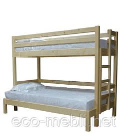 Двоповерхове ліжко Л-308  Скіф