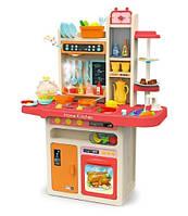 Детский набор большая игровая кухня с посудой и водой Limo Toy 889-162