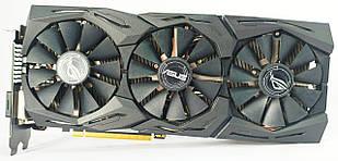 Видеокарта Asus ROG STRIX GTX 1060 (6GB/GDDR5/192bit) STRIX-GTX1060-O6G-GAMING БУ