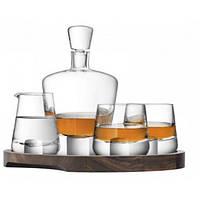 "Набор для виски ""Whisky Cut"" на деревянной подставке 900 мл + 250 мл, фото 1"