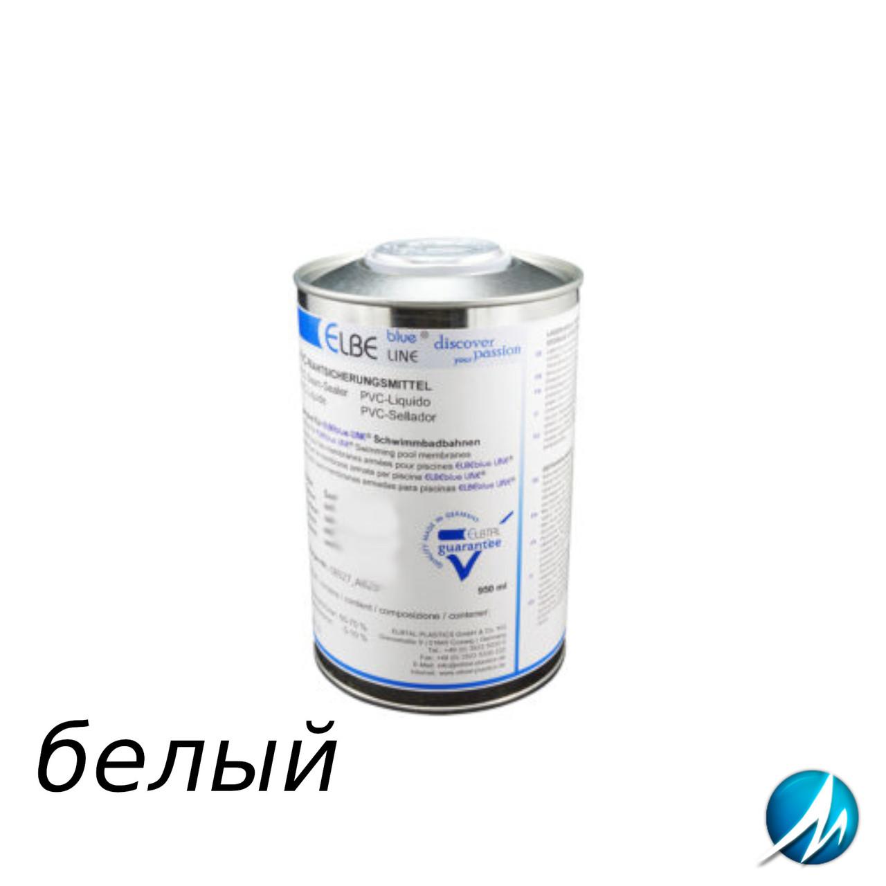 Жидкий ПВХ-герметик для швов Elbtal Plastics SUPRA white белый, цвет 104
