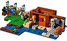 """Конструктор майнкрафт BELA Minecraft """"Фермерский коттедж"""" 560 деталь, фото 7"""