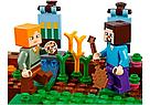 """Конструктор майнкрафт BELA Minecraft """"Фермерский коттедж"""" 560 деталь, фото 6"""