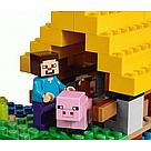 """Конструктор майнкрафт BELA Minecraft """"Фермерский коттедж"""" 560 деталь, фото 5"""