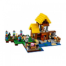"""Конструктор майнкрафт BELA Minecraft """"Фермерский коттедж"""" 560 деталь, фото 2"""
