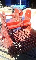 Картоплекопач транспортерний карданний для мотоблоку БелМет (воздушка), фото 1