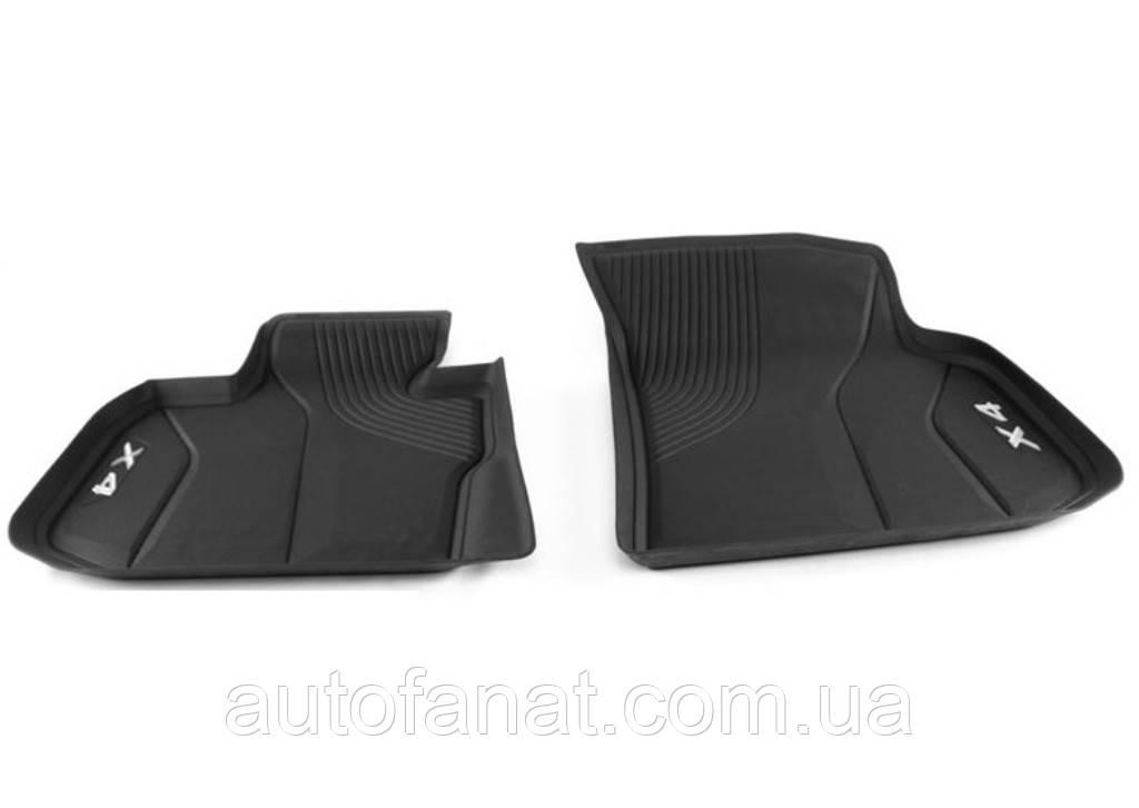Оригинальные высокие передние коврики салона BMW X4 (G02) передние (51472451367)