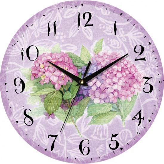 Настенные Часы Vintage Бабочка на серени