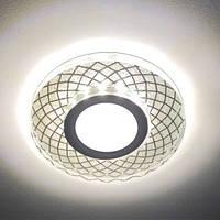 Вбудований світильник Feron CD833 з LED підсвічуванням
