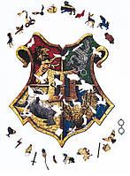 Большой деревянный пазл Гарри Поттер формата A3
